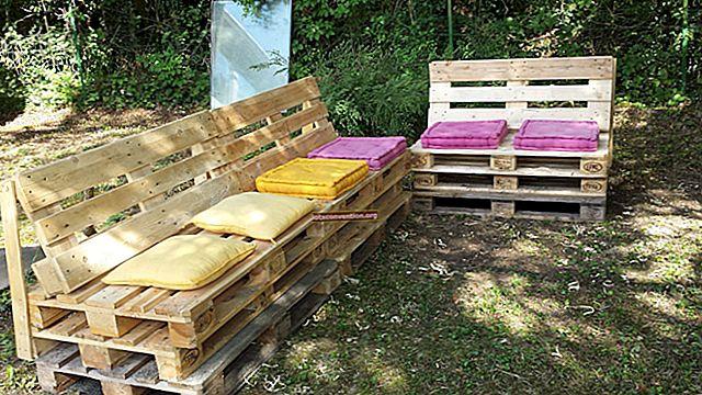 16 Idea Perabot Murah (Walaupun Percuma) Dengan Palet Kayu.