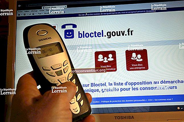 Trött på telefonsamling? Prenumerera på Bloctel för att BLOCKA kommersiella samtal.