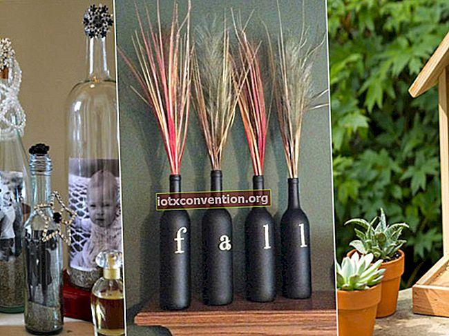 37 modi intelligenti per riutilizzare le bottiglie di vetro per la decorazione domestica.