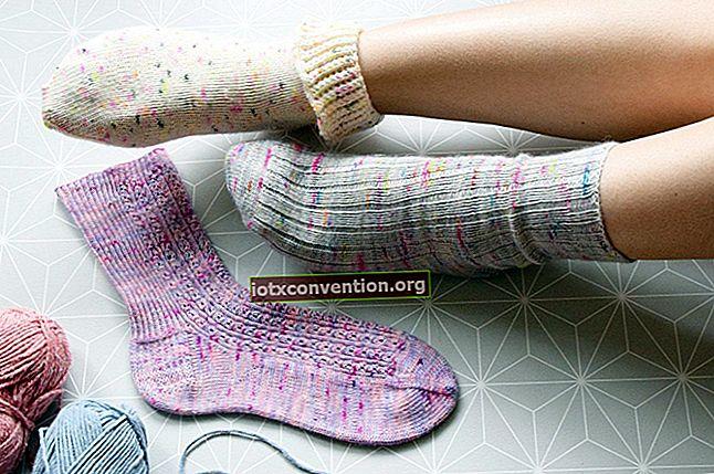 Fai da te: calzini antiscivolo per i tuoi bambini.