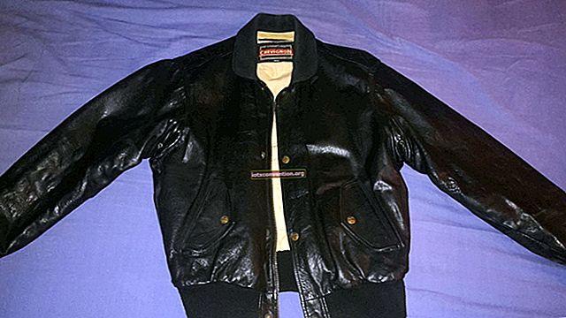 Ein Problem mit Ihrem Leder? Ein Tipp zum Reparieren Ihrer Jacke oder Jacke.