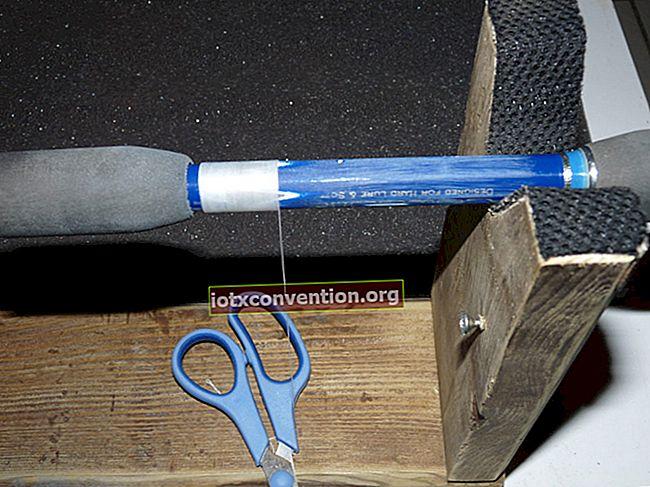 Trik Sedikit Dikenal untuk Membaiki Tali Pecah.