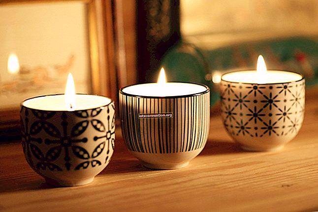 La ricetta casalinga per fare candele profumate naturali.