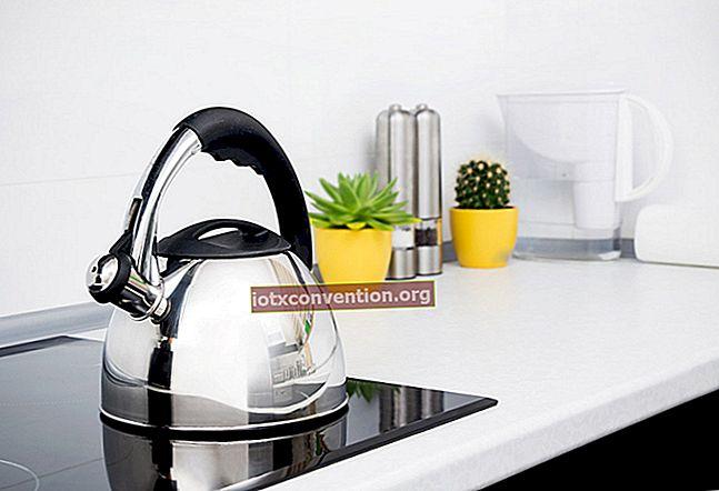 Hur avkalka och rengöra en luftfuktare med vit vinäger.