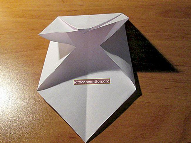Come creare facilmente una busta origami.