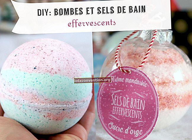 Veloce e facile da preparare: la ricetta delle bombe da bagno in stile lussureggiante.