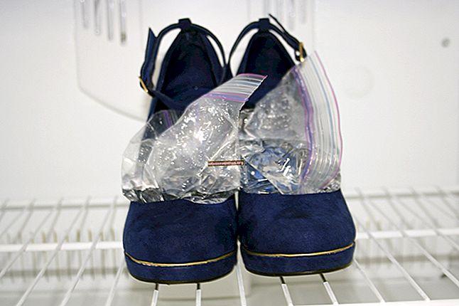Der Trick, um Ihre Lederschuhe zu erweichen und zu erweitern.