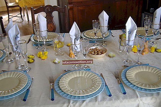Come allestire una bella tavola per una cena? La guida EASY in immagini.