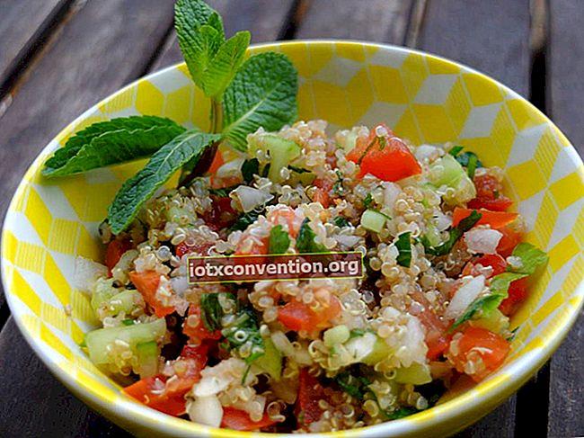 Tabouleh mit Quinoa: ein originelles und glutenfreies Rezept!