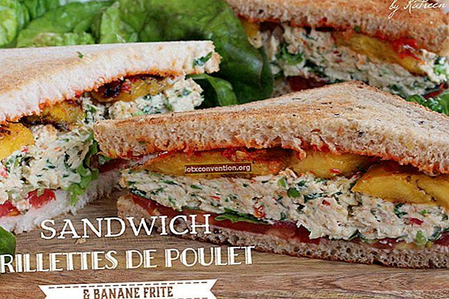 Ein schnelles und billiges kaltes Sandwich-Rezept.