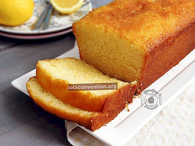 Lemon Cake: Resep Mudah dan Sangat Murah.