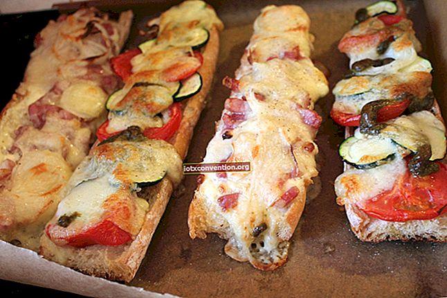 Baguette alla griglia con Gruyère, una ricetta super economica!
