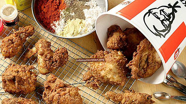 La ricetta segreta del pollo KFC FINALMENTE svelata!