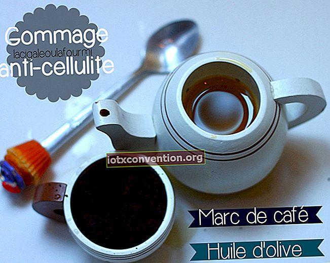 Le Marc de Café, un efficace e gratuito anticellulite.