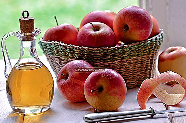 Tag Kulit: Cara Menghilangkannya Dengan Cuka Sari Apel.