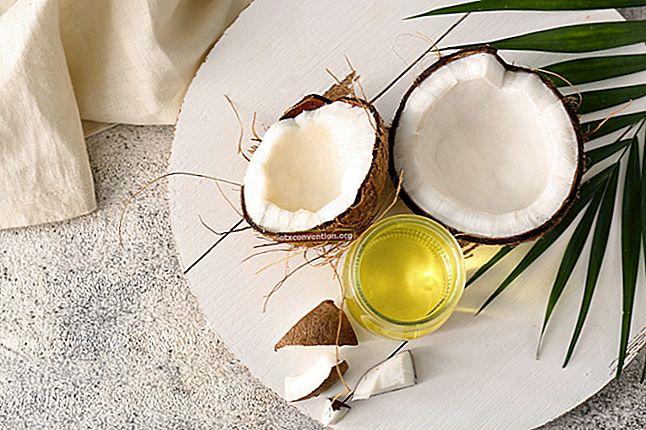 10 otroliga fördelar med kokosnötolja för hår och hud.