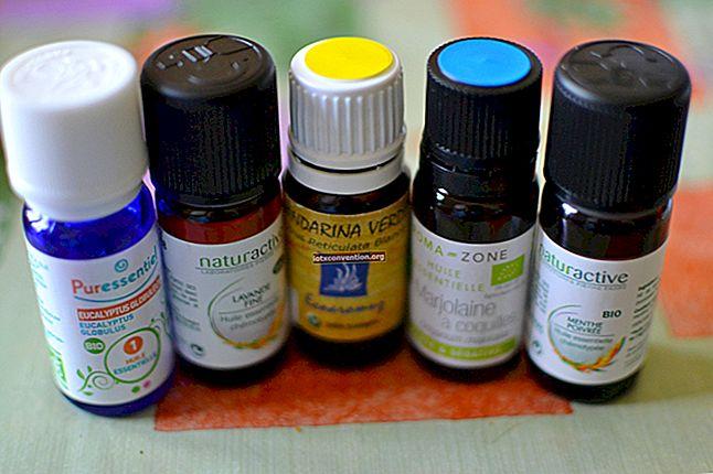 4 kleine natürliche Heilmittel gegen Kopfschmerzen.