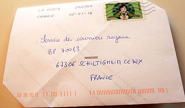Il trucco per inviare una lettera senza busta.