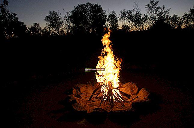 En ny metod för att tända en eld utan litet trä.
